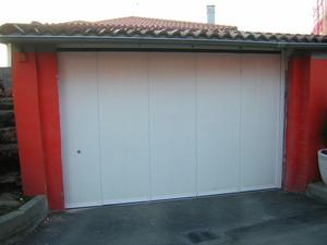 Nuevo portón seccional de apertura lateral